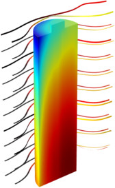 While some can easily picture electron flow as a flow of water